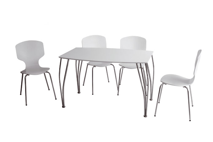 Mesa de comedor con sillas outlet de muebles - Outlet de sillas ...