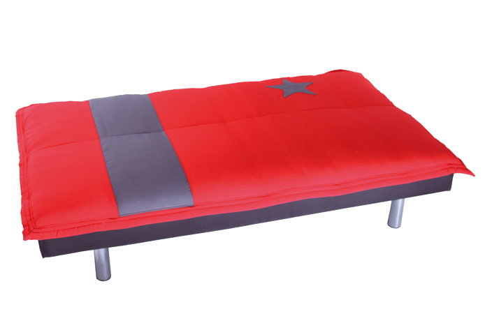 Sof cama barato outlet de muebles for Sofa cama polipiel barato