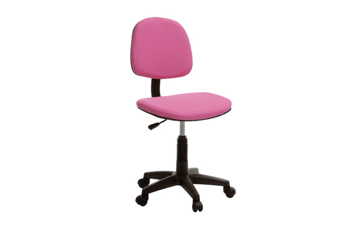 Silla de estudio rosa barata outlet de muebles for Sillas negras baratas