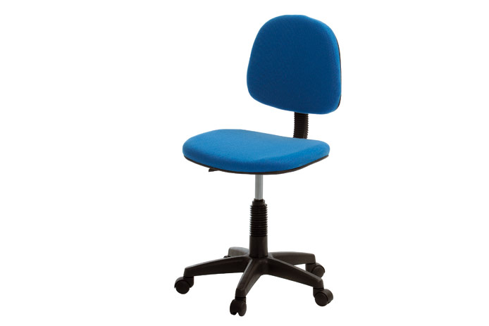 Silla de estudio azul barata outlet de muebles for Sillas de ordenador