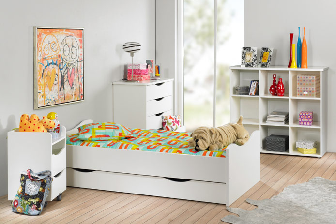 Cama nido barata outlet de muebles for Camas nido dobles baratas