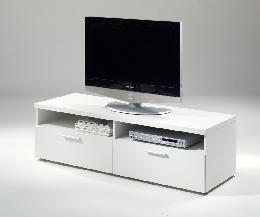 mesa de tv blanca outlet de muebles