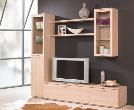 Estanter a librer a moderna barata outlet de muebles for Muebles librerias modernas