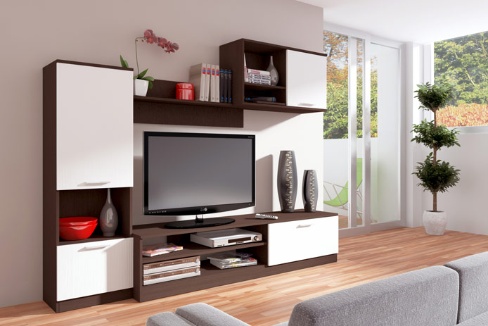 Librer a estanter a barata moderna outlet de muebles for Muebles librerias modernas