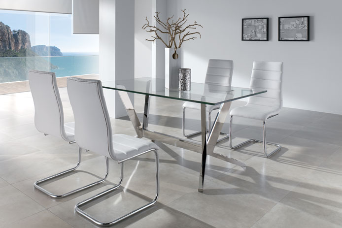 Mesa comedor outlet outlet de muebles for Mesas y sillas salon baratas
