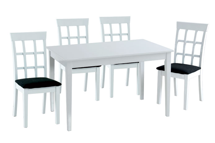 Conjunto mesa comedor y sillas oferta outlet de muebles for Sillas de salon baratas